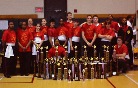 I would like to thank all of the students for their participation in this year�s March, 2003 Mercer County Martial Arts Championship.